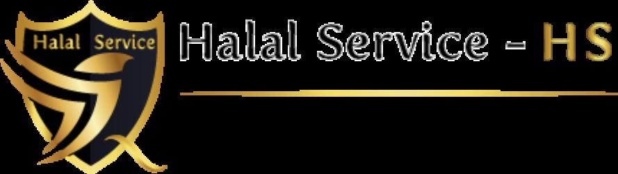 Logo Halal Service-HS con motto