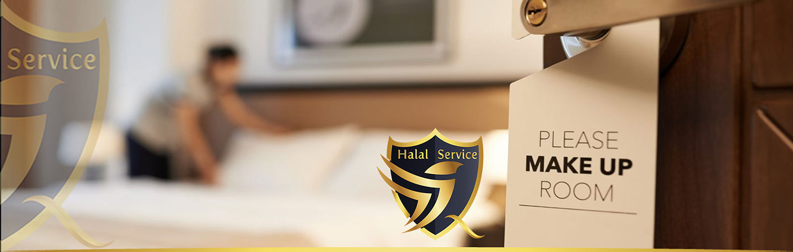 Cover room fitting Halal Service-HS